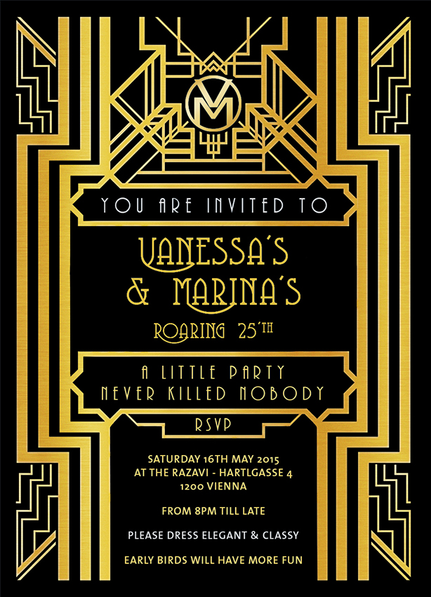 How to throw a Party like Gatsby – Vrban Diaries